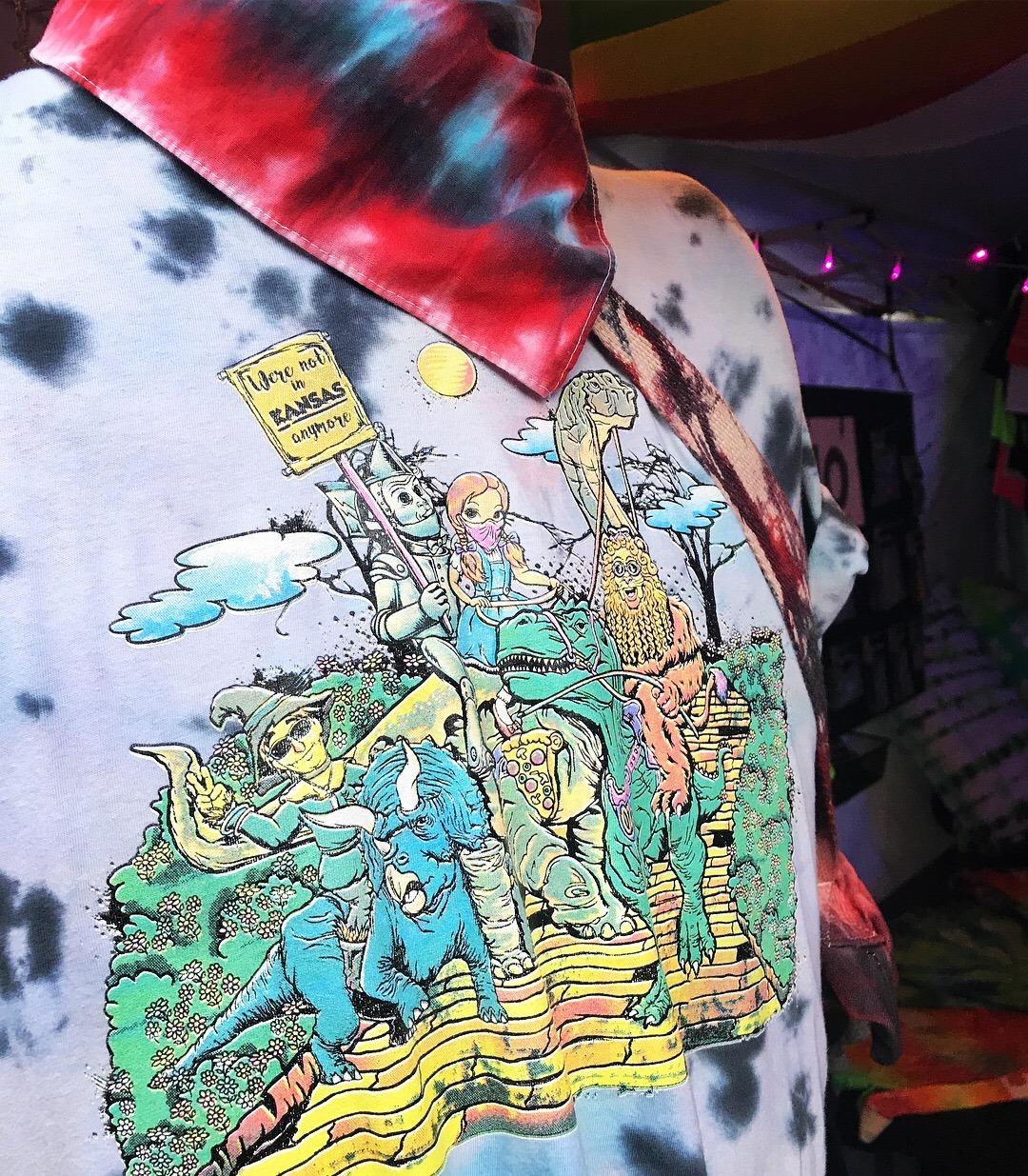 Dinos of Oz Screen Printed Shirt