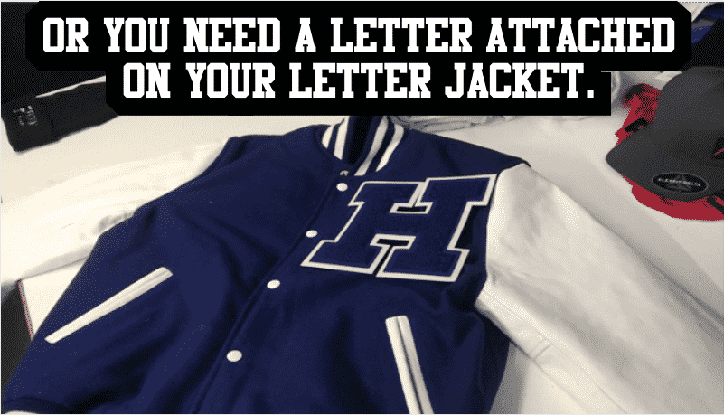 Letterman letter Add