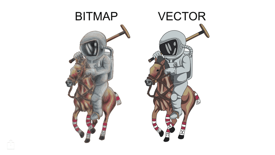 Bitmap to Vector Redraw Image