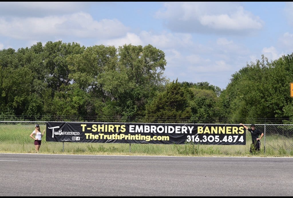Truth Printing Full Color Banner - Rock Road